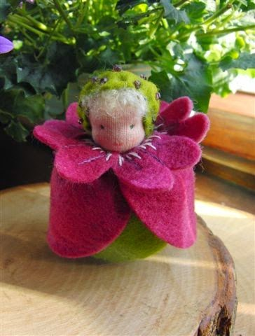 Atelier Constance zelf maken Bloemenkinderen Ooievaarsbek