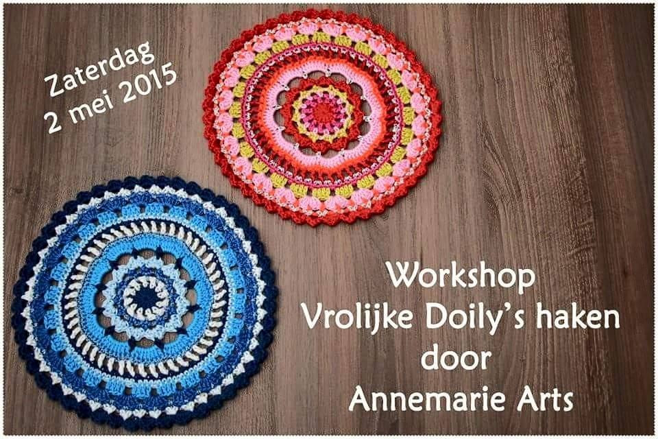 Workshop Doily,s haken